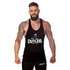 Bodybuilding Tank Tops Stringer Singlet <b>Fitness</b> Men Sleeveless ...