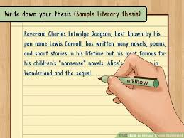 Ways to Write a Thesis Statement   wikiHow wikiHow