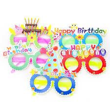 Хэллоуин <b>Бумажные очки</b> с днем рождения Новые ...