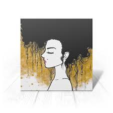 """Открытка """"Golden"""" #2731549 от d_ari.design@mail.ru - <b>Printio</b>"""