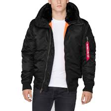 <b>Куртка мужская</b> Alpha Industries МA-1 <b>HOODED</b>