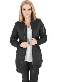 <b>Куртка URBAN CLASSICS</b> Ladies <b>Long</b> Bomber <b>Jacket</b> женская ...
