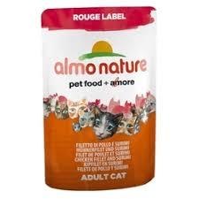 «<b>Пауч</b> для кошек <b>Almo Nature Rouge</b> Label, 55 г, куриное филе и ...