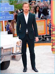 england style steps: may  ryan gosling steps out for the nice guys uk premiere in london