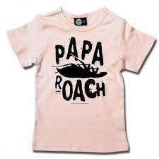 Logo/Roach | Kids Girly Shirt | <b>Papa roach</b> merch