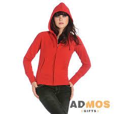 <b>Толстовка женская</b> на молнии <b>Hooded Full</b> Zip/women красный ...