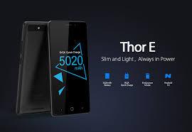 <b>Vernee Thor E 5020mAh</b> Big Battery Quick Charge Mobile Phone ...