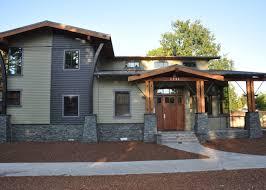 Contemporary Craftsman Home   So Replica HousesContemporary Craftsman Home