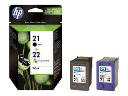 <b>SD367AE</b> - <b>HP 21</b>/<b>22</b> Combo Pack - 2-pack - black, colour (cyan ...