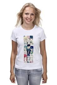 Футболка классическая <b>Fairy Tail</b> #1126771 – заказать женские ...