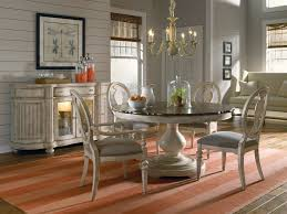 Modern Round Dining Room Tables Beautiful White Brown Wood Glass Modern Design Dining Room White