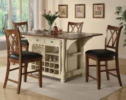 wood kitchen table beautiful:  beautiful kitchen tables and chairs sets small white lacquered wood kitchen table with shelves underneath black