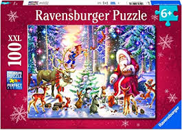 Ravensburger Christmas in The Forest 100 Piece XXL ... - Amazon.com