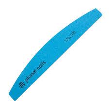 <b>Planet Nails</b>, <b>Пилка</b> для ногтей широкая полукруглая синяя Mylar ...