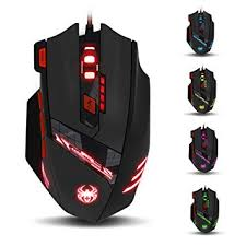 <b>ZELOTES T90</b> Gaming Mouse <b>9200 DPI</b> Wired USB Computer Mice ...