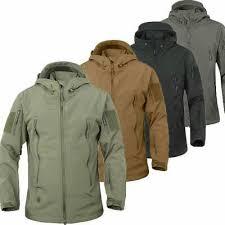 <b>TAD Hunting Outdoor</b> Softshell Military Tactical Jacket Men ...
