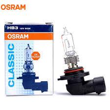 <b>OSRAM HB3</b> 9005 <b>12V 60W</b> 3200K P20d ORIGINAL Line Headlight ...