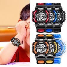 Children Watch <b>Colorful</b> Light <b>Waterproof Student</b> Electronic Watch ...