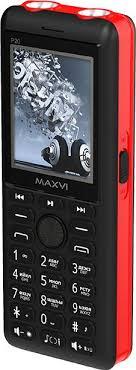 Мобильный <b>телефон Maxvi P20</b> (черно-красный)