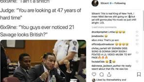 Tekashi 6ix9ine receives vicious burn from 50 Cent over snitching ...