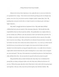 college essay sample template college essay sample