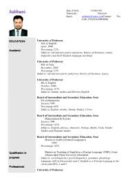 resume in english examples teacher cipanewsletter sample cv for teaching job in clasifiedad com