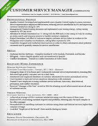 good resume samples for customer service manager easy resume service manager resume examples