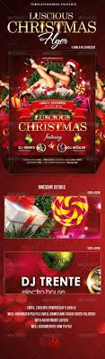 christmas party flyers premium files psddude glamour girl party flyer for christmas
