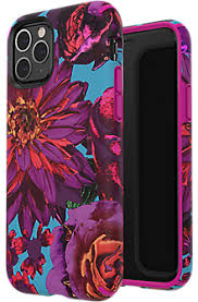 Speck Presidio Inked <b>Case for</b> iPhone 11 Pro - Hyperbloom <b>Matte</b> ...