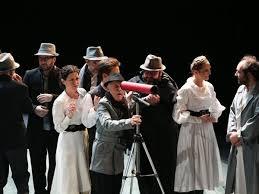 Αποτέλεσμα εικόνας για Ο βίος του Γαλιλαίου εθνικό θέατρο 2016 ηθοποιοί