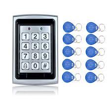 Hot Sale!Waterproof <b>Metal Rfid Access Control</b> Keypad With 1000 ...