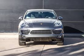 2014 Porsche Cayenne Diesel 2014 Porsche Cayenne Diesel For Sale In Colorado Springs Co P2374