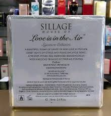 <b>House of Sillage</b> - <b>Love</b> is in The Air Parfum For Woman 75ml New ...