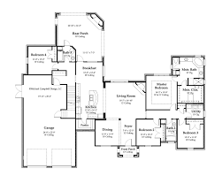 House Plan square footage  bedrooms  French Country House     st Floor Plan Click for larger view
