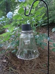 old glass sconce globe a cheap 1 solar light stake removed some cheap diy lighting
