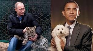 Resultado de imagem para Obama, Putin