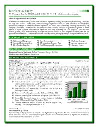 s marketing sample resume expert certified resume writer s and marketing sample resume