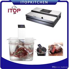 <b>ITOP</b> 2pcs/<b>set Vacuum</b> Sealer and Sous Vide Film Sealer Immersion ...