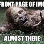 Walking Dead Zombie Meme Generator - Imgflip via Relatably.com