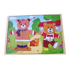 Купить <b>Пазл</b> Два медведя в магазине Умный карапуз