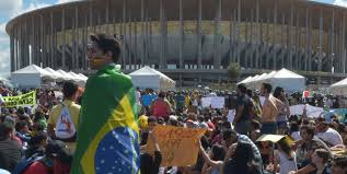 Copa do Mundo e os protestos