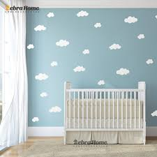 diy white cloud wall stickers baby nursery bedrooms home decor art removable vinyl murals wallpaper for bedroom cool bedroom wallpaper baby nursery