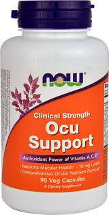 NOW Foods <b>Clinical Strength Ocu</b> Support -- 90 Veg Capsules ...