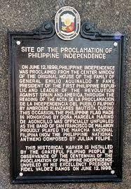 「Emilio Aguinaldo y Famy declaration of independence」の画像検索結果