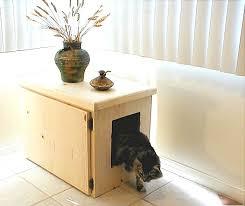 image of best cat litter box furniture arena kitty litter box