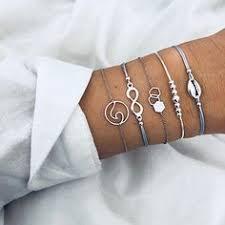 Charming Multilayer Bracelets, 1.<b>Map</b> 2.Infinity 3.Beads 4.<b>Gem</b> 5 ...