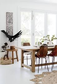 dining room khaki tone:  the play of natural wood for dining room