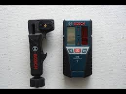 <b>Bosch</b> LR2 обзор <b>приёмника лазерного</b> луча - YouTube