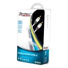 <b>Кабель для сабвуфера</b> Real Cable SUB-1/2m00 — купить в ...
