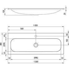 Купить <b>Раковина</b> мебельная <b>Ravak Ring</b> 100 (XJK01110000 ...